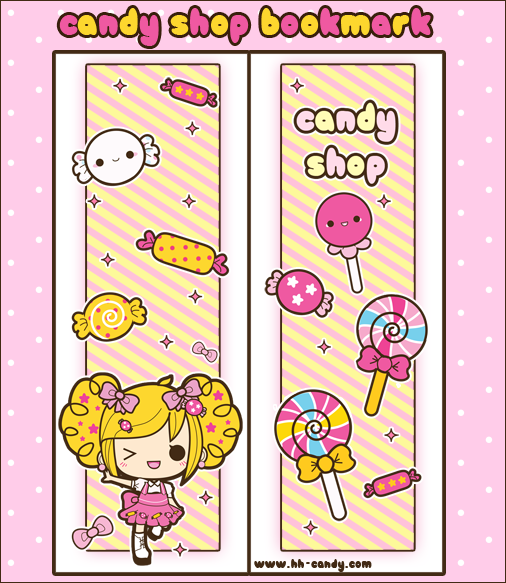 bookmarks cute kawaii resources